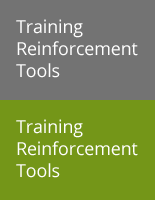 Training Reinforcement Tools